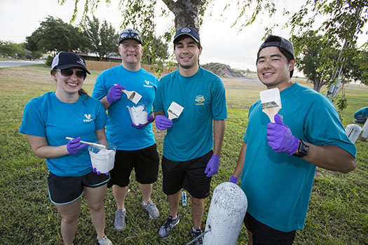 making a social impact valero volunteers