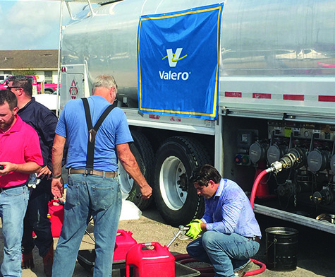 Valero employees help provide fuel in Hurricane Harvey's aftermath