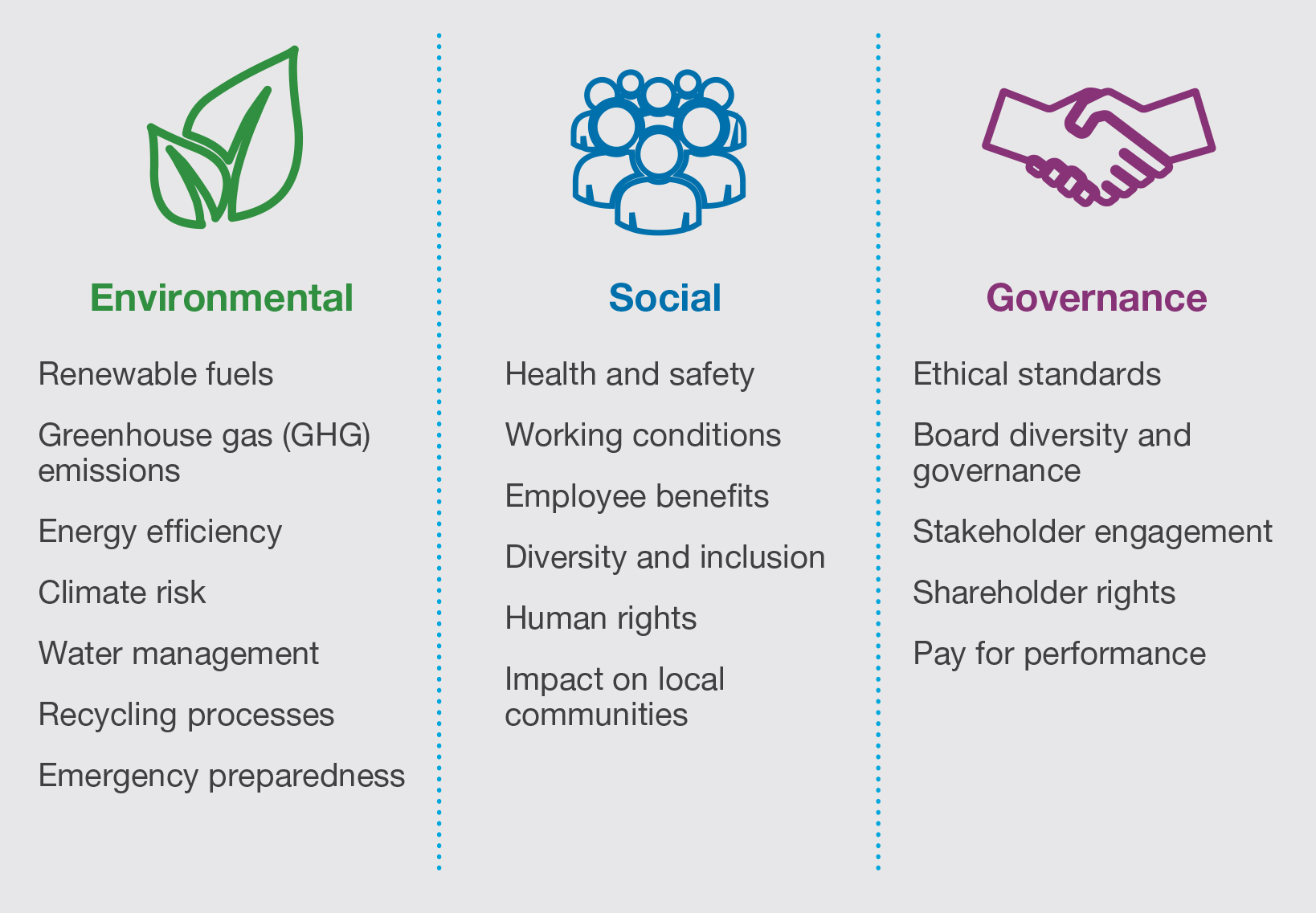 ESG Overview Infographic