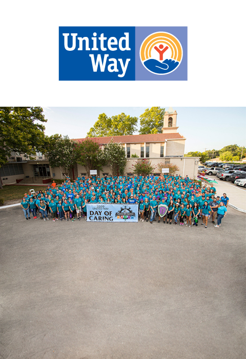 Valero volunteers at United Way Day of Caring