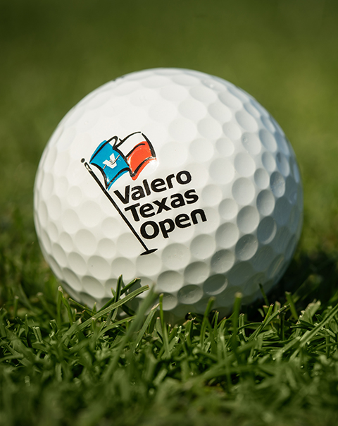 Valero Texas Open golf ball