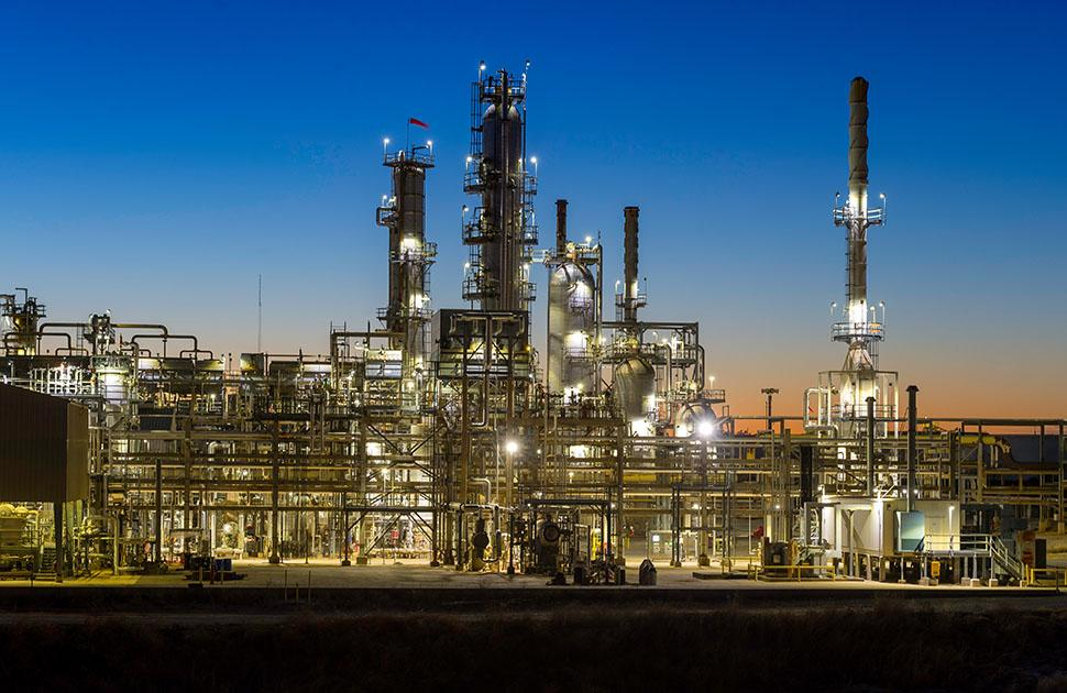 shots of Ardmore Refinery & Community