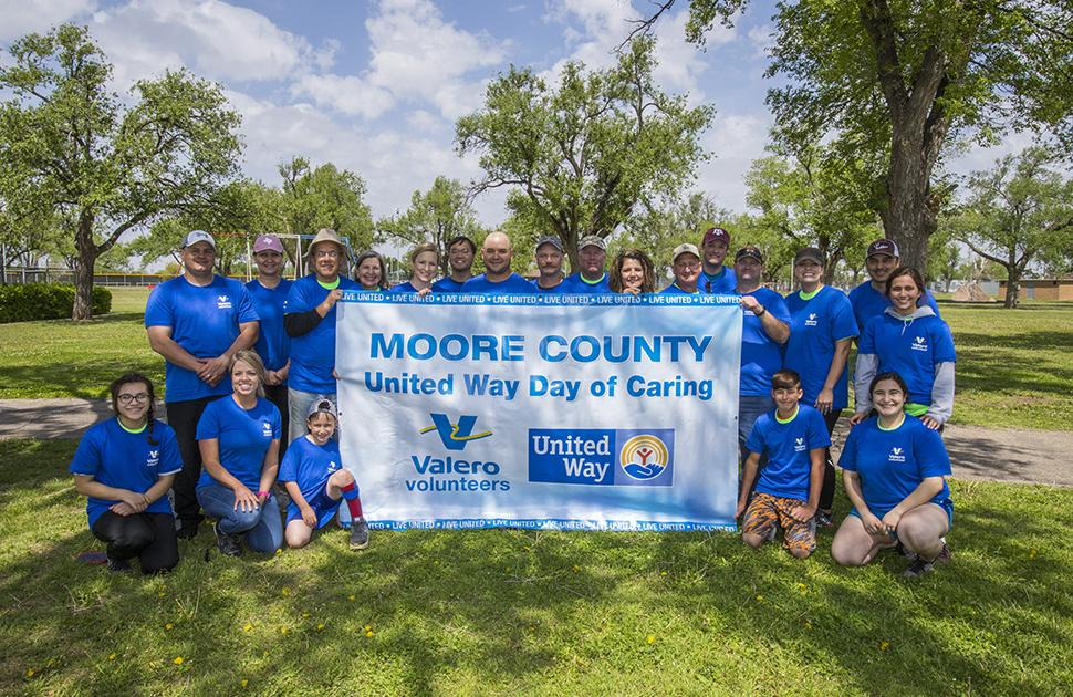 Moore County United Way Day of Caring Group