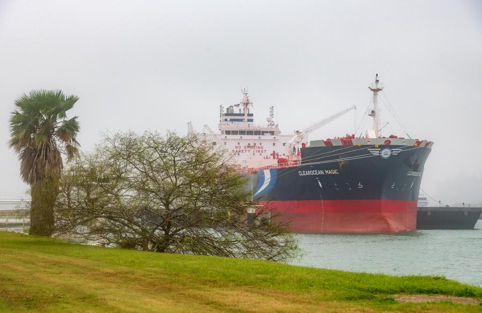 Tanker at Bill Greehey Refineries