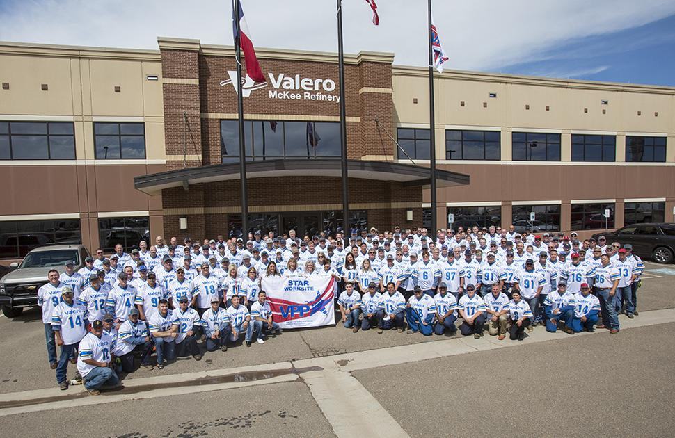 Valero McKee Refinery VPP Celebration