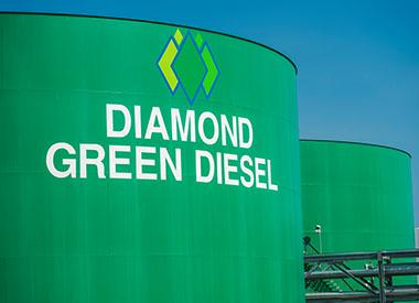Diamond Green Diesel tanks