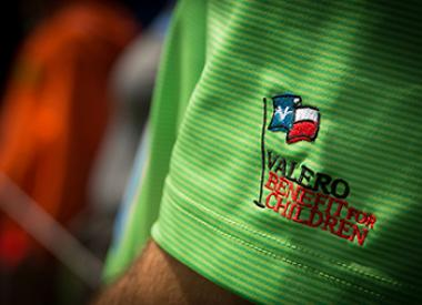 Valero Benefit for Children Golf Shirt