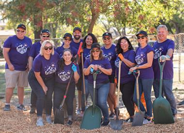 Valero Wholesale team at Day of Caring