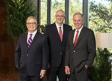 Valero Executives Lane Riggs, Jason Fraser and Joe Gorder