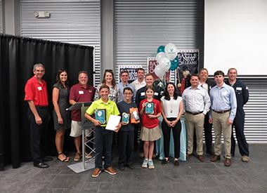 Organizers and participants of the Valero Meraux Invention Convention